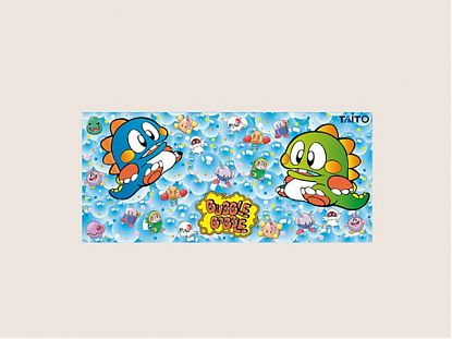 Vinilo decorativo muebles BARTOP panel de control bubble bobble 05627