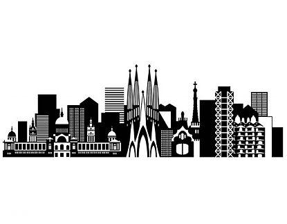 Complementos Decorativos En Vinilo Adhesivo Ciudades De