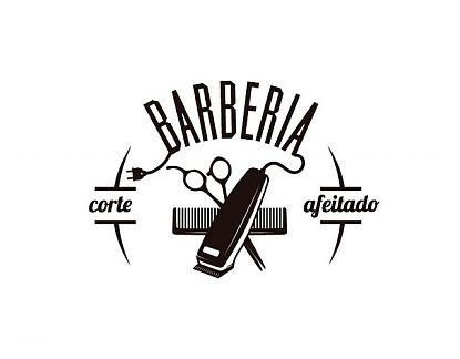 Vinilo para Barberías decoración vidrieras, escaparates y paredes interiores 04396