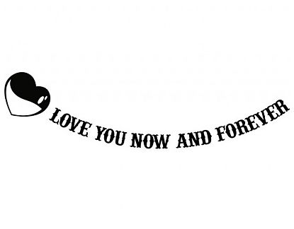 Vinilo Especial Enamorados Love You Now and Forever02564