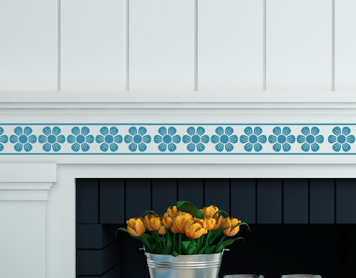 Cenefas adhesivas decoraci n azulejos y paredes - Cenefas adhesivas banos ...