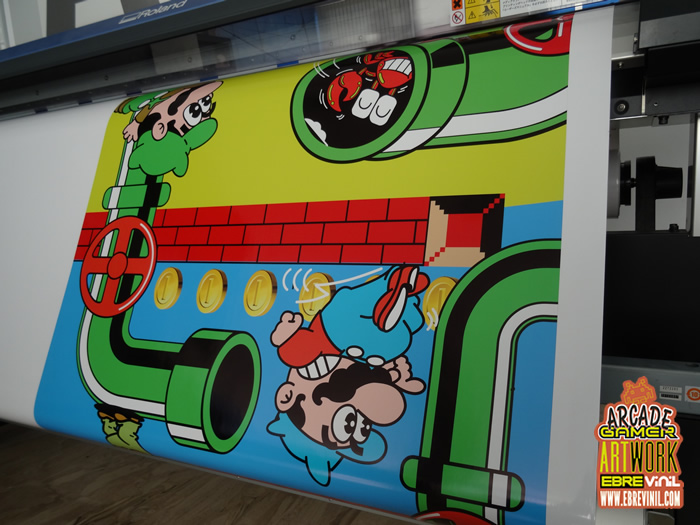 decoraciones bartop mario bros mueble laminado