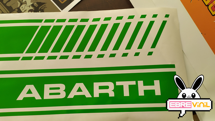 decoraciones en vinilo fiat abarth
