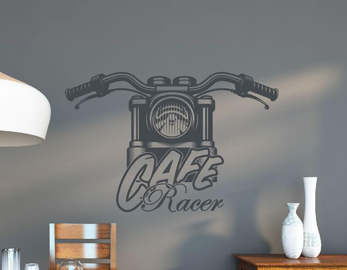Vinilo Decorativo Estilo Vintage Cafe Racer 04927 Los