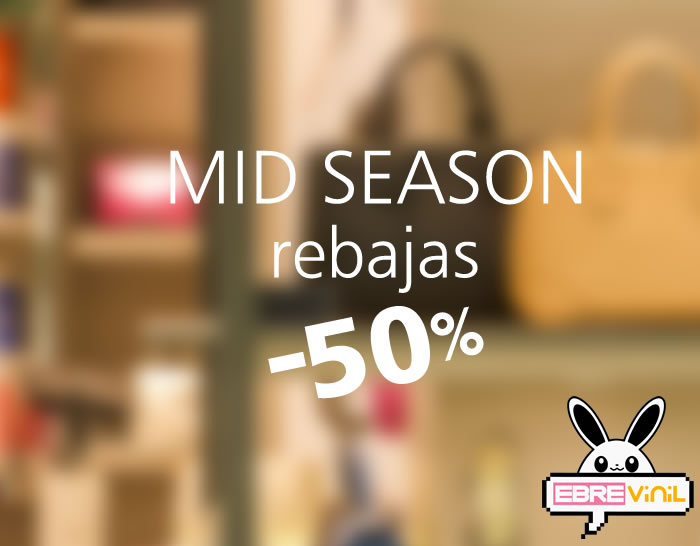vinilo decorativo MID SEASON
