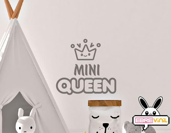 vinilo decorativo infantil queen