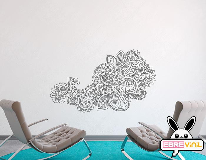 Vinilo adhesivo decoración oriental para personalizar las paredes de ...
