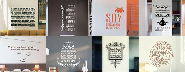 Tienda online de vinilos decorativos stickers wall art for Vinilo frases dormitorio