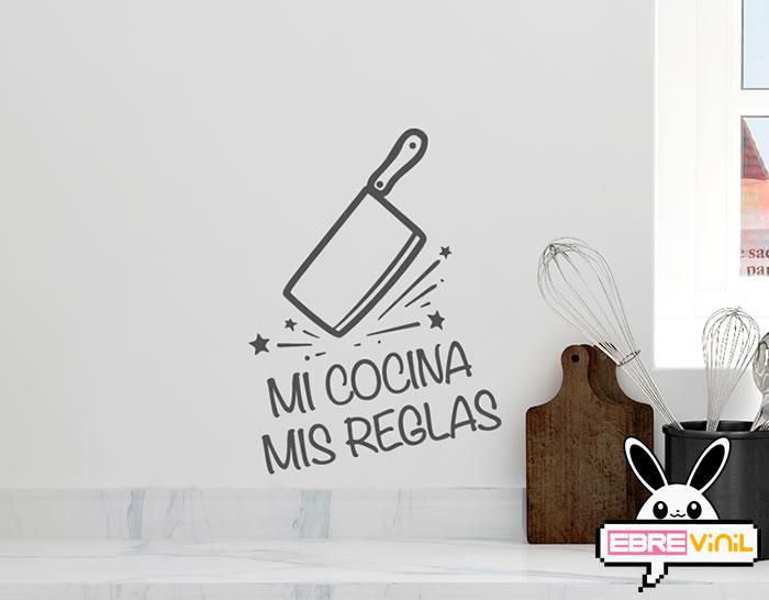 Vinilos Decorativos Para Cocinas Con Textos Y Frases Mi
